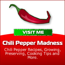 Chili Pepper Madness, Chili Pepper Recipes and Tips